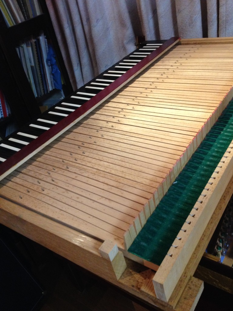 フレンチ2段の鍵盤部分